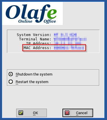 Find Dell Wyse Thin Client MAC Address – Olafe